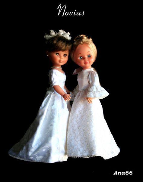 la habitación de ana - nancy ayer y hoy. muñeca nancy quiron novia y
