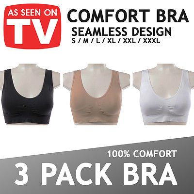 Womens #seamless comfort bra comfy #shapewear sports #stretch crop top vest suppo,  View more on the LINK: http://www.zeppy.io/product/gb/2/111068269148/
