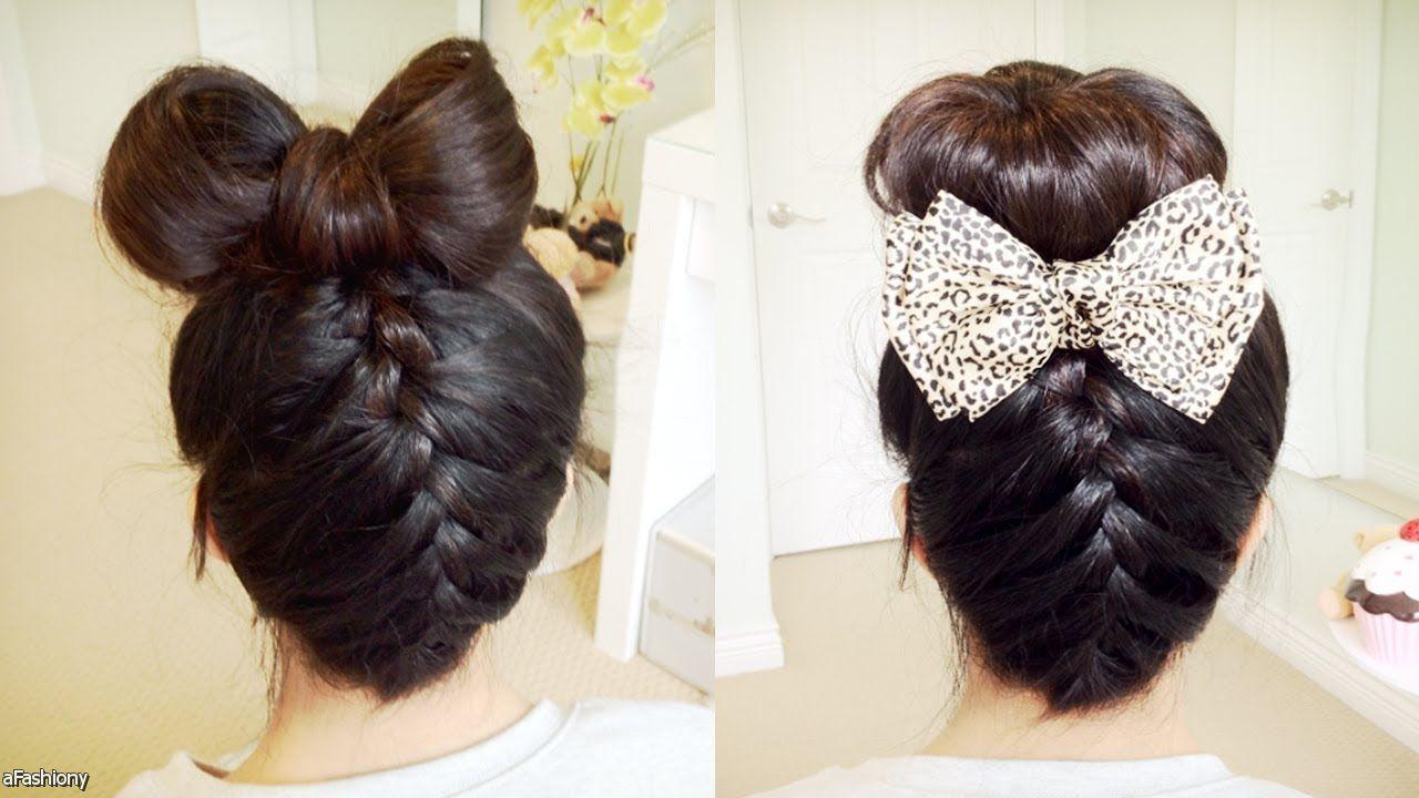 cute bows Hair Pinterest