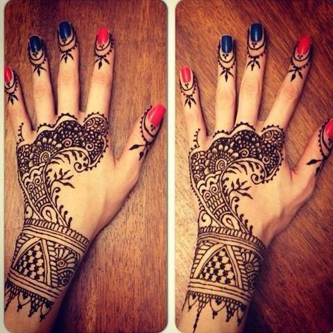 Henna Henna Tattoo Henna Rihanna Hand Tattoo