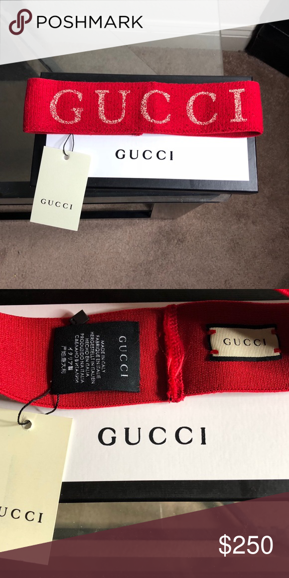 4fce5fdff55 Red Gucci headband Attracts a lot Of attention Gucci Accessories Hair  Accessories