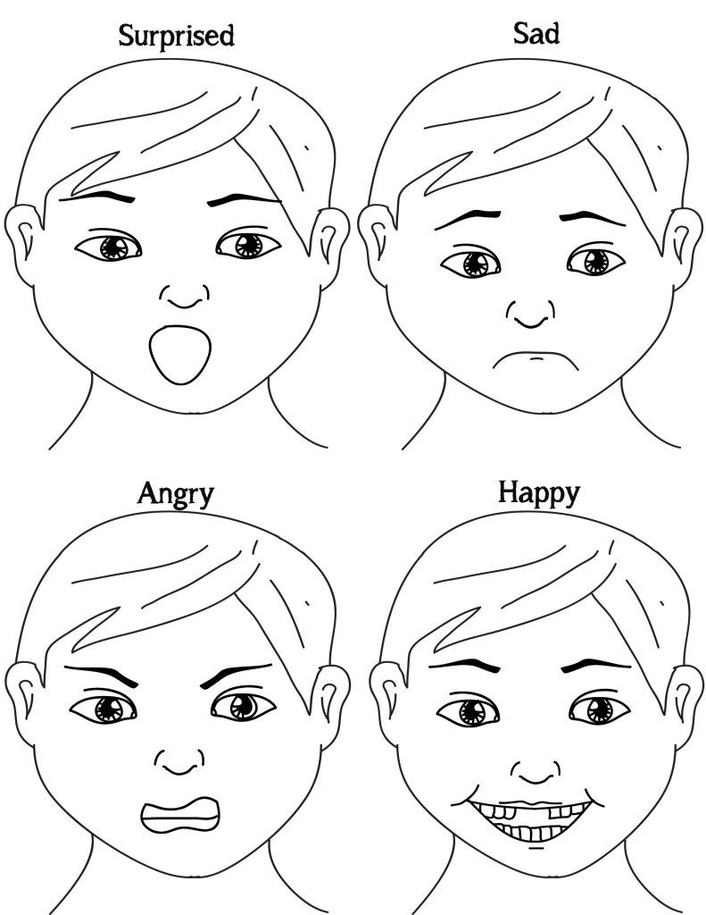 Exploring Emotions Free Printable Game ⋆ Probably Crafting