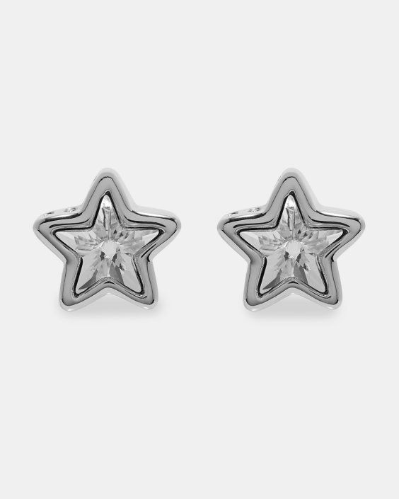 Swarovski Crystal Star Earrings Silver Colour Jewellery Ted Baker Uk