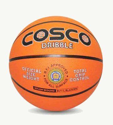 Cosco Basket Ball Dribble 13013 13023 13014 Assorted Colour Basketball Sports Rebounding