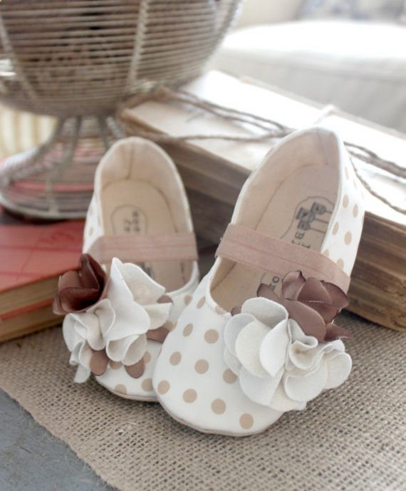 Baby Girl Shoes Soft Soled Shoes Easter Shoes by BitsyBlossom, $32.00
