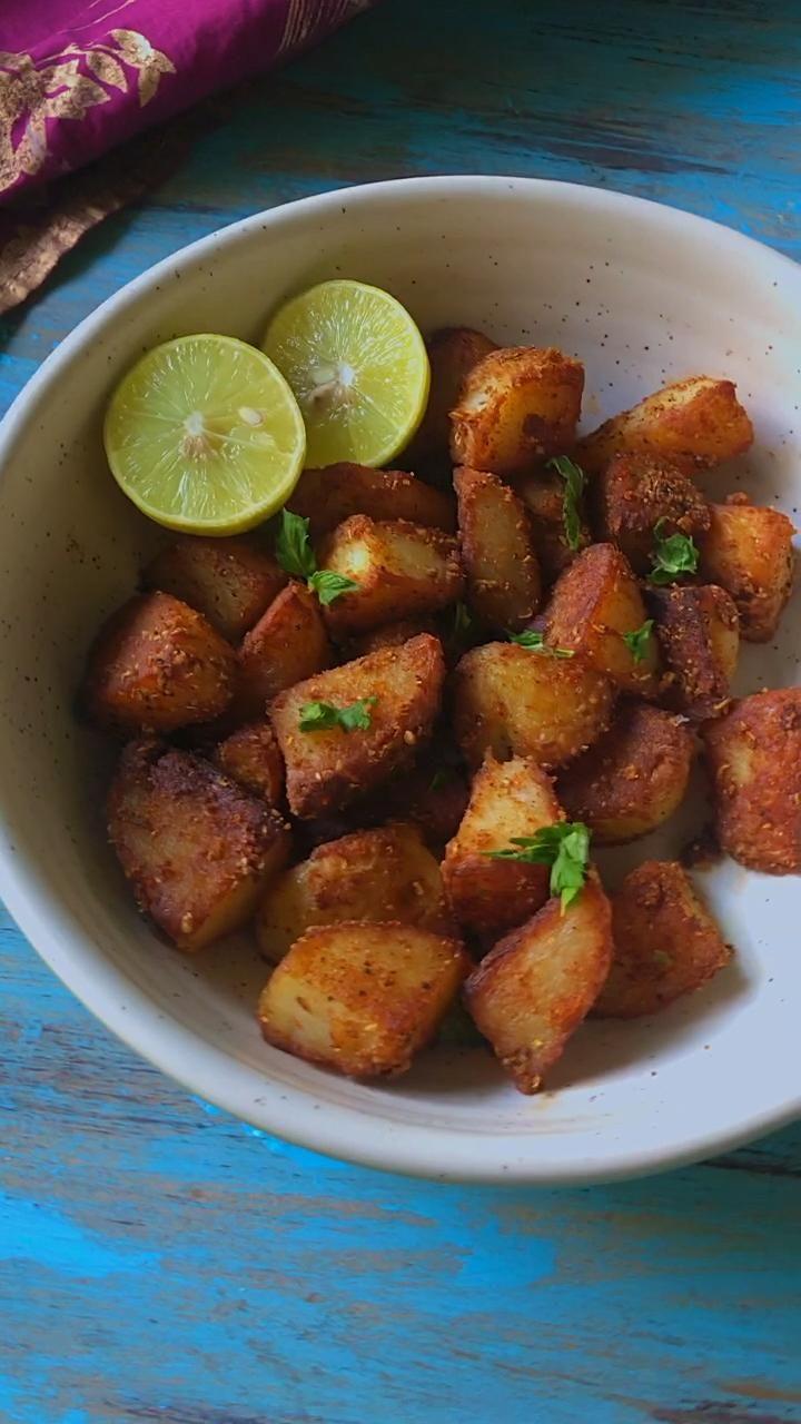 Indian Aloo Chaat Recipe An indian street food del