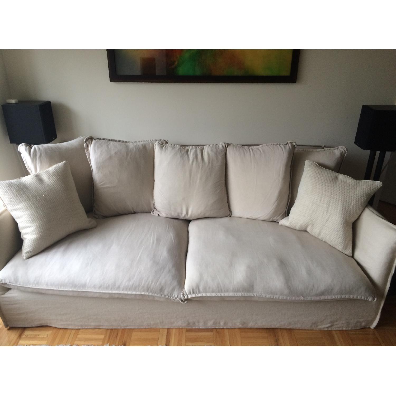 Crate & Barrel Oasis Sofa | Sofas in 2019 | Apartment sofa ...