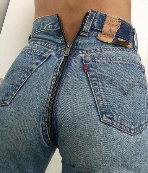 Vetements and Levi s just debuted bare derrière jeans  Cheeky cut. 40a29246f02