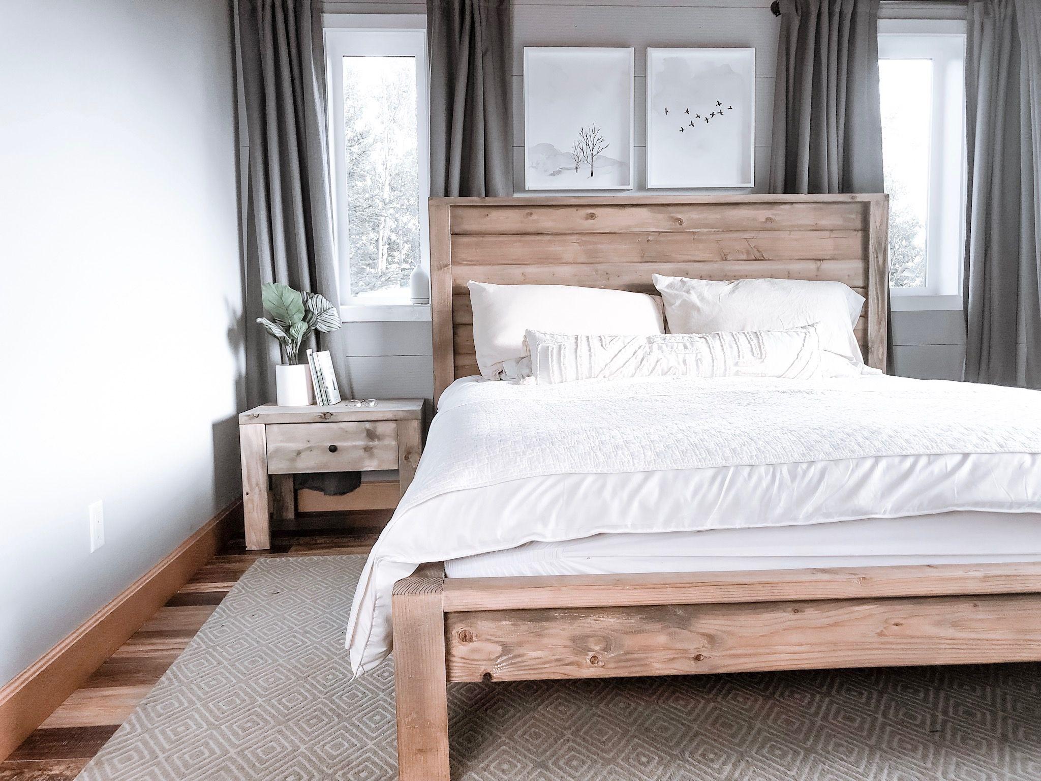 Best Modern Farmhouse Bed Frame Bed Frame Farmhouse Style 400 x 300