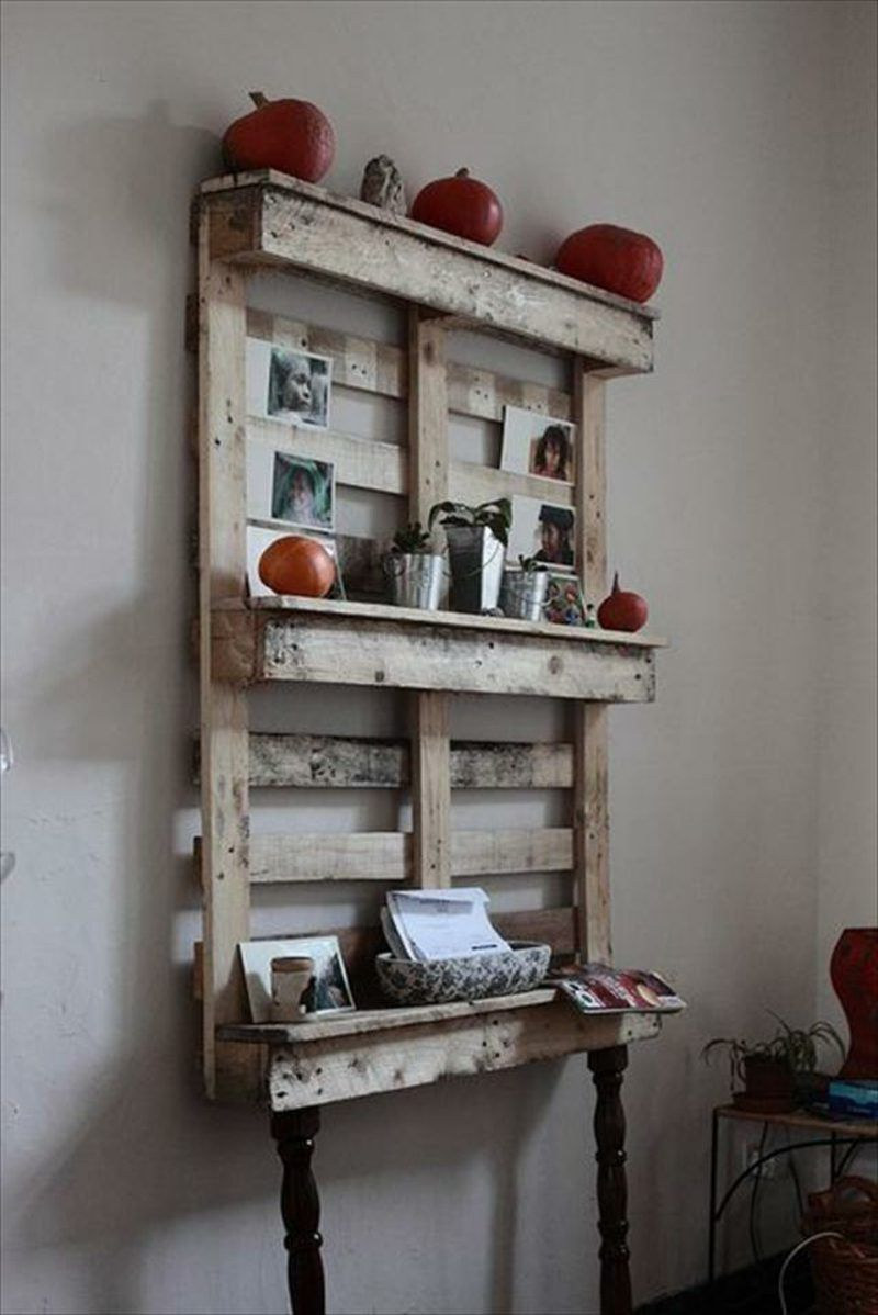 Regal aus Paletten 51 Budget-freundliche DIY Ideen | Pinterest ...