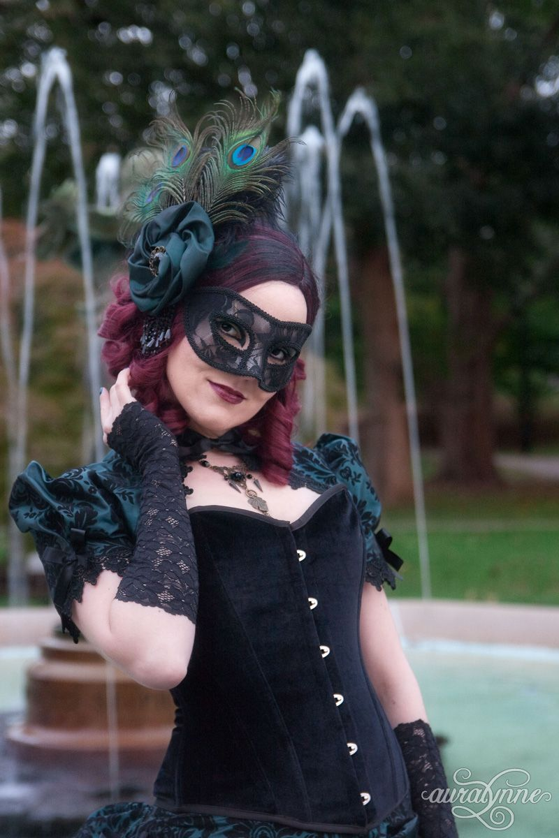 Masquerade ball dress dark allure masquerade ball