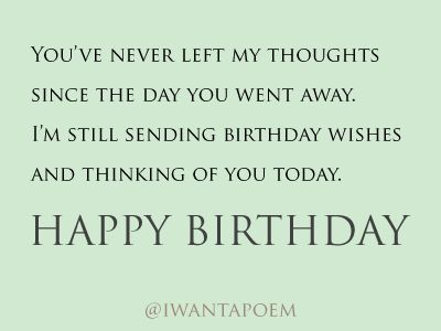 Say Happy Birthday After Someone Has Died Jpg 400 300 Brother Birthday Quotes Birthday Quotes For Me Happy Birthday Quotes