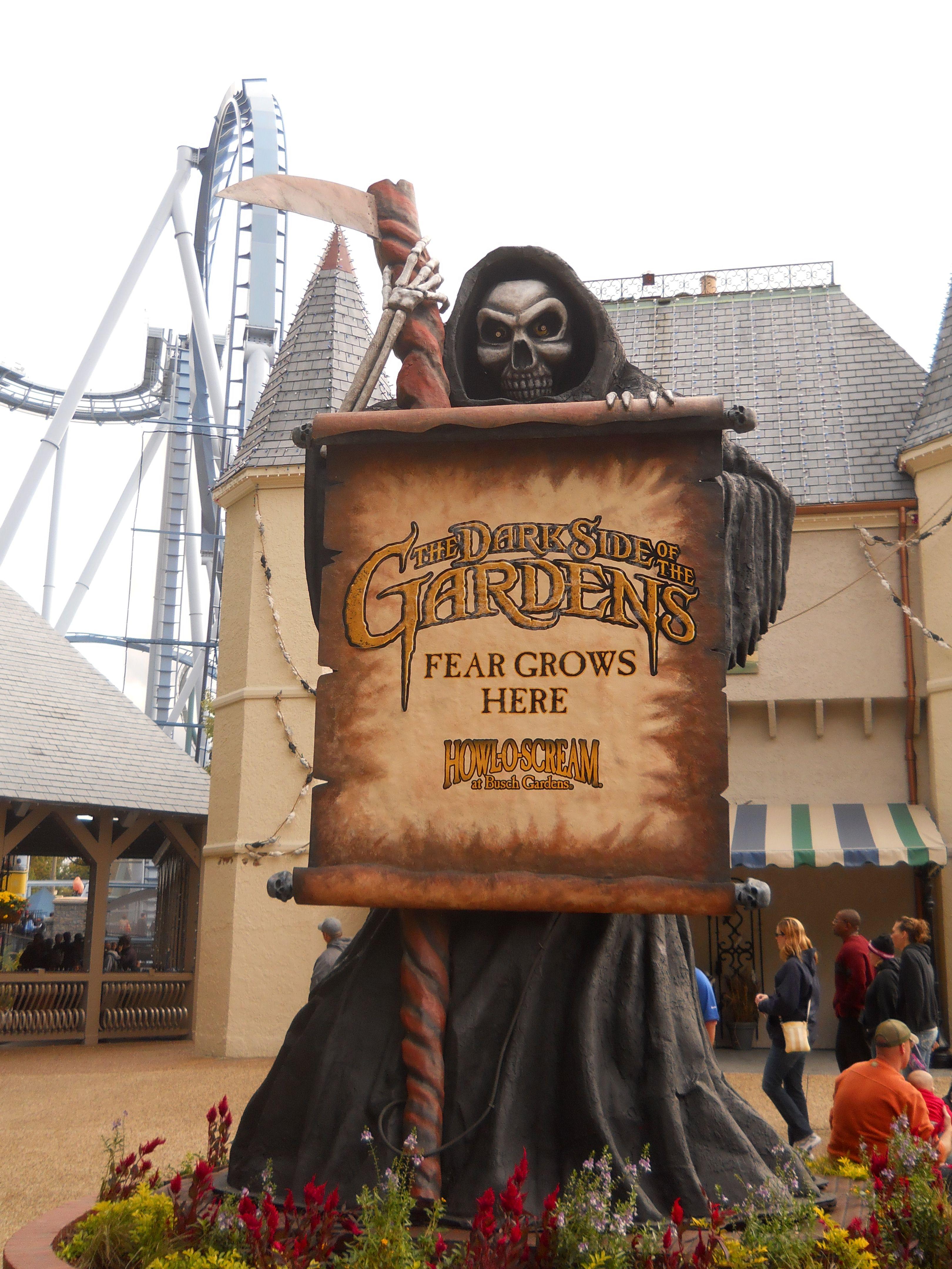 Williamsburg, Virginia, Busch Gardens Howl O Scream! Wow, that was a ...
