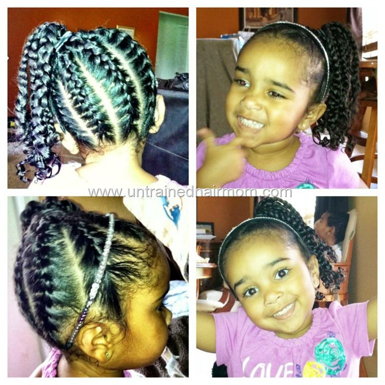 Awe Inspiring 1000 Images About Little Girls Braided Hairstyles With Beads On Hairstyle Inspiration Daily Dogsangcom