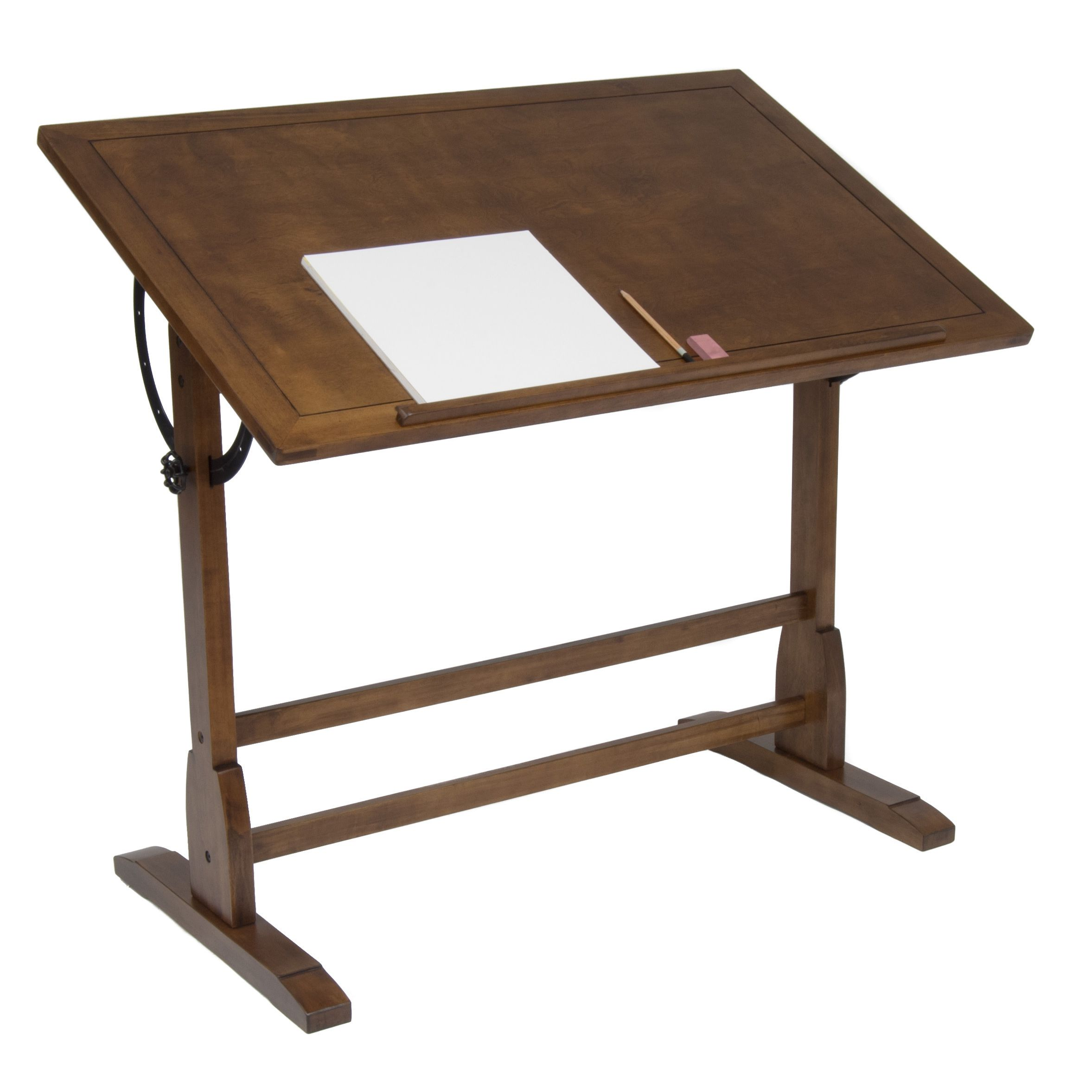 Art studiosStudio Designs 42 inch Vintage Oak Drafting and Hobby Craft Table  . Artist Studio Furniture Uk. Home Design Ideas