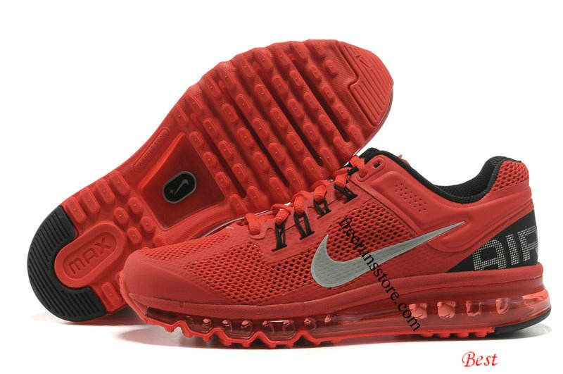 Nike Air Max 2013 Mens Pimento Red Black 554886 600 | Nike