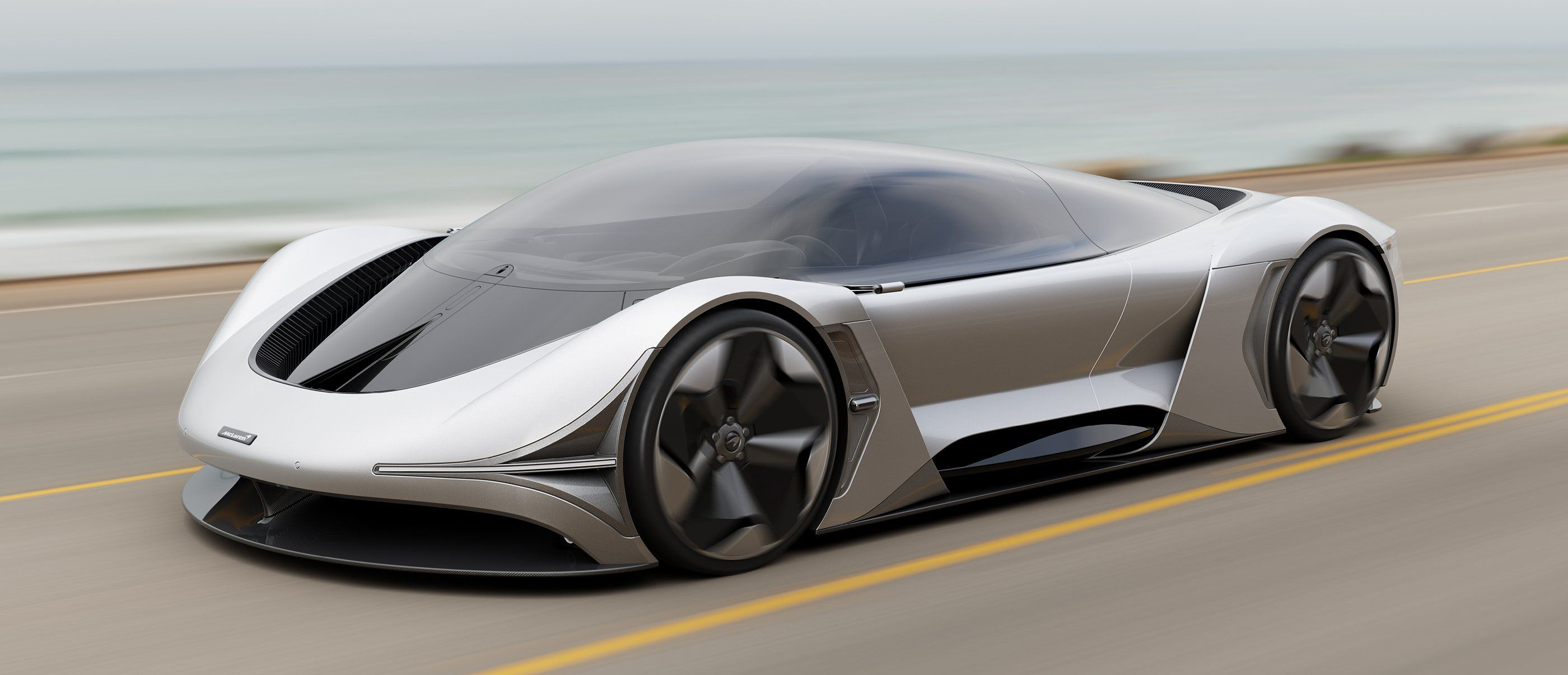 Taking Panoramic Sunroofs To A New Level Is This Mclaren Concept E Zero Electric Supercar Conceptualised For The In 2020 With Images Automotive Design Luxury Motor Concept Design