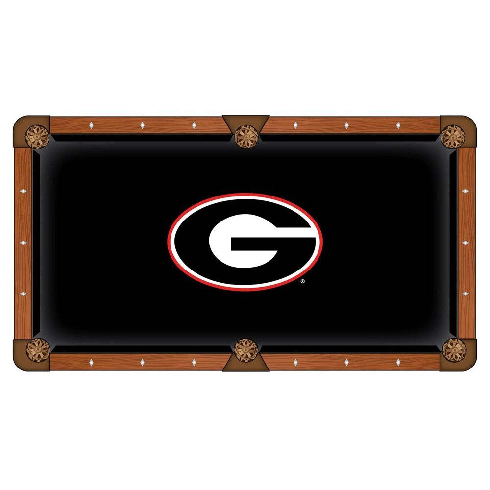 Georgia Bulldogs Pool Table Cloth