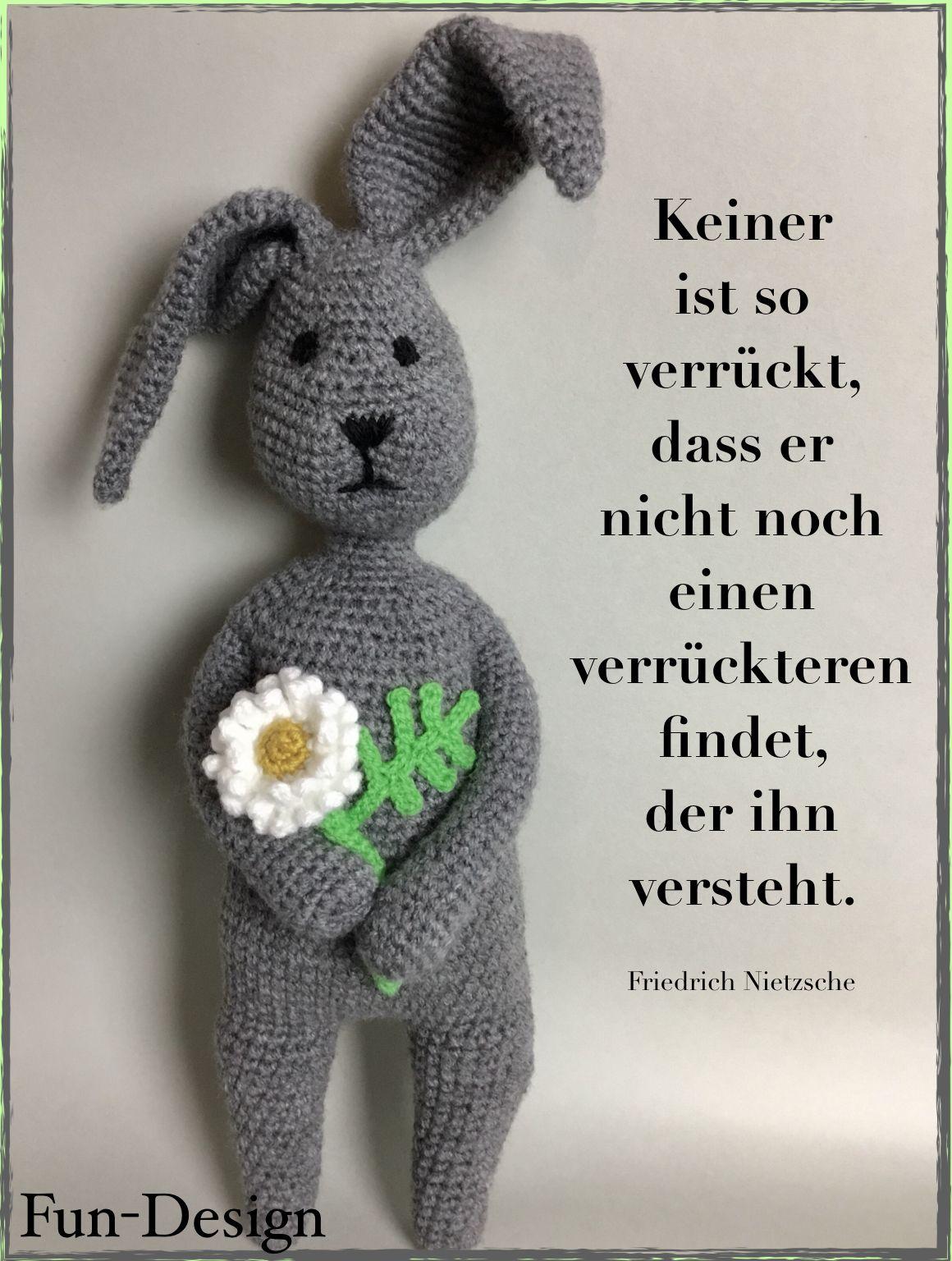 Hallo... Ich habˋ eine Blume für dich... #häkeln #Häkelanleitung ...