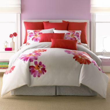 JCPenney Home Flower Power Comforter Set found at @JCPenney | bed ...