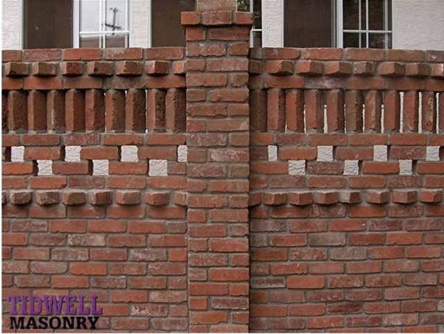 San Diego Masonry Screen Brick Patio Wall Screen walls
