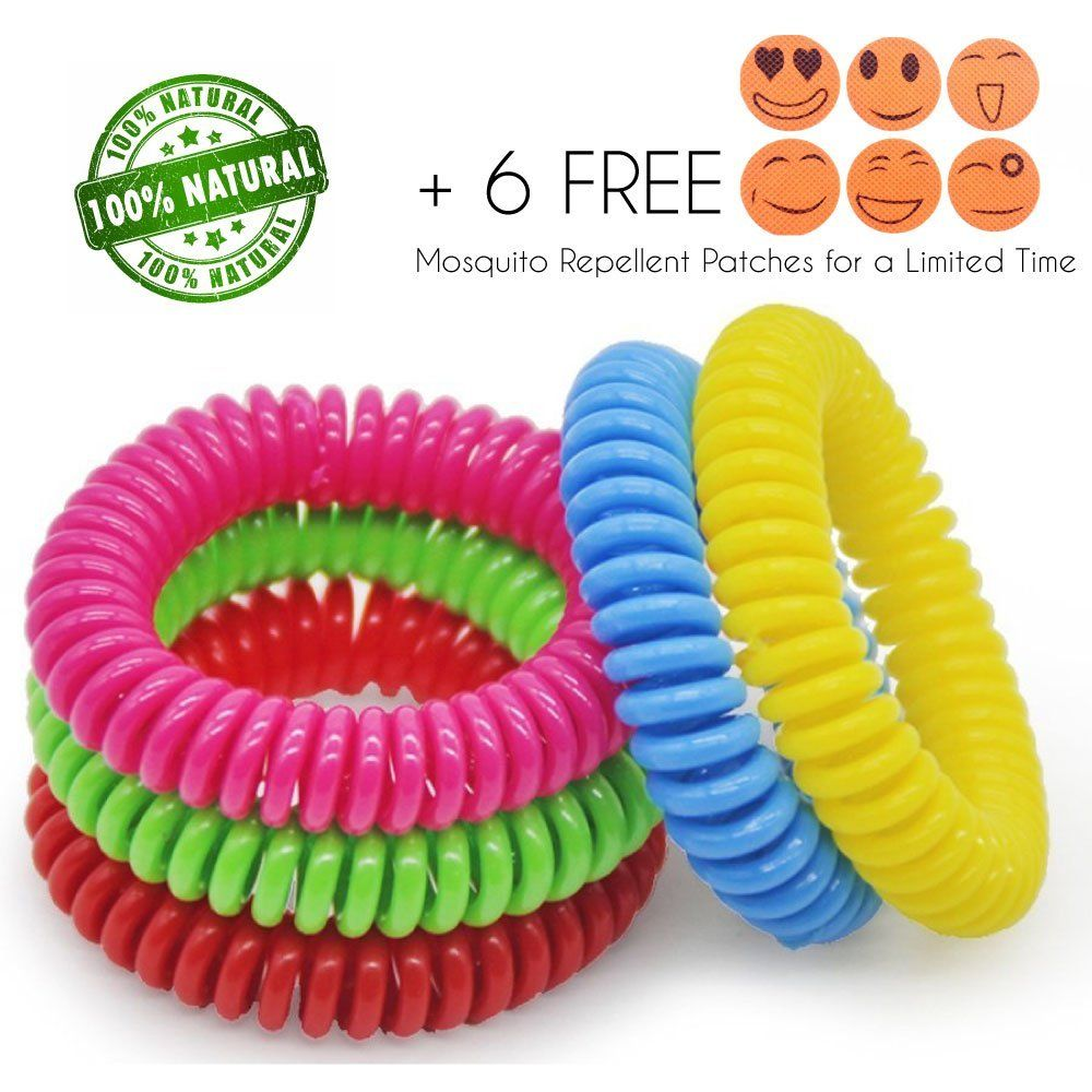 Mosquito Repellent Bracelet 10 Pack Of Insect Bands For Kids And S 250hrs All Natural Protection Deet Free Waterproof 6