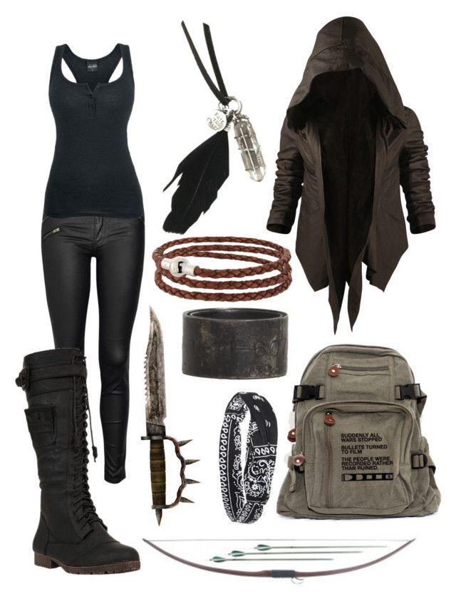 """""""Octavia Blake. The 100. Grounders don't give up, they fight."""" by xxalycatxx ❤ liked on Polyvore featuring rag & bone/JEAN, Yoki, Nicholas K, Disney, Gemma J, AllSaints, Forever 21, women's clothing, women's fashion and women"""