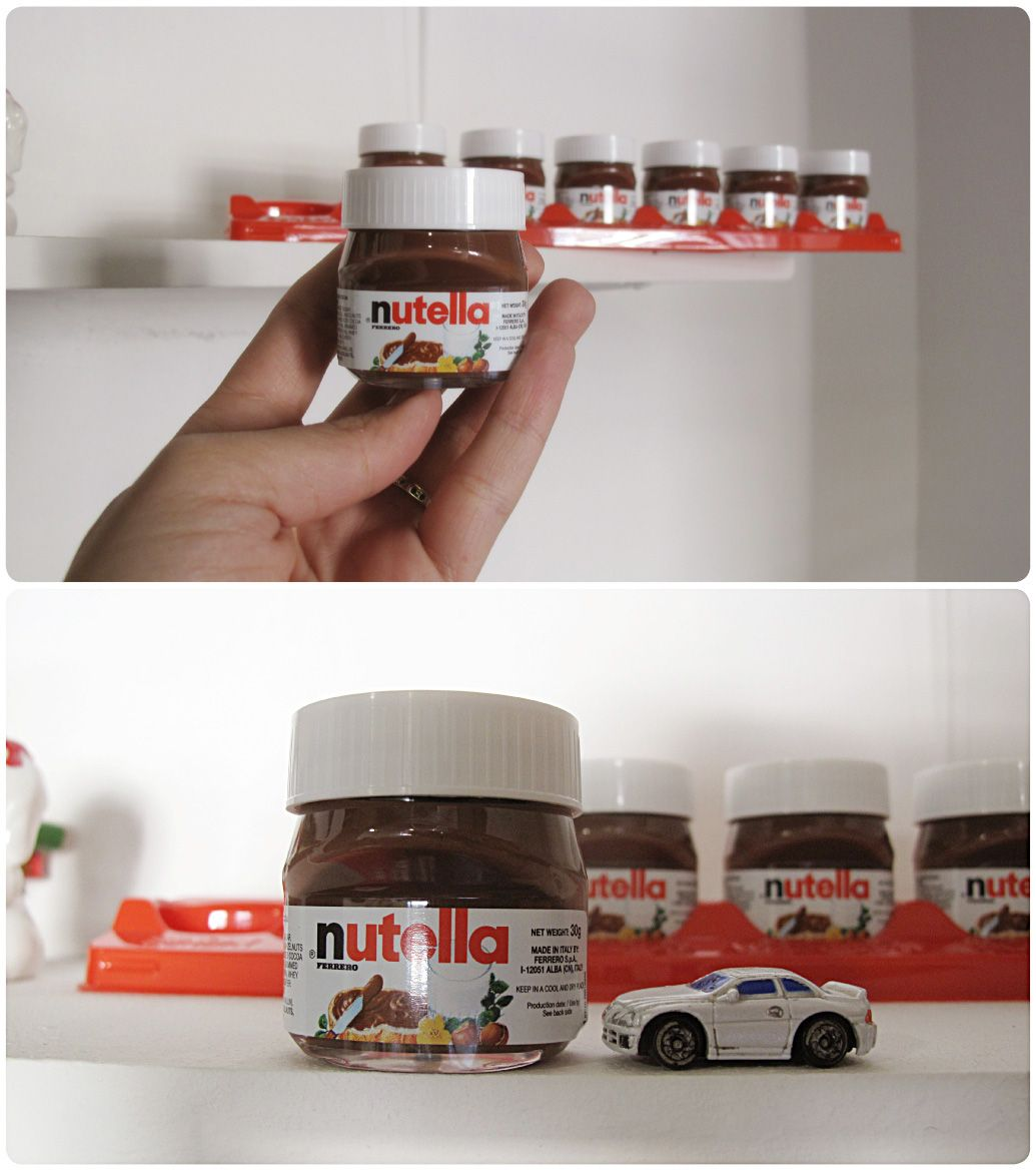 Steph Long... Mini jars of Nutella! These would be awesome favors at ...