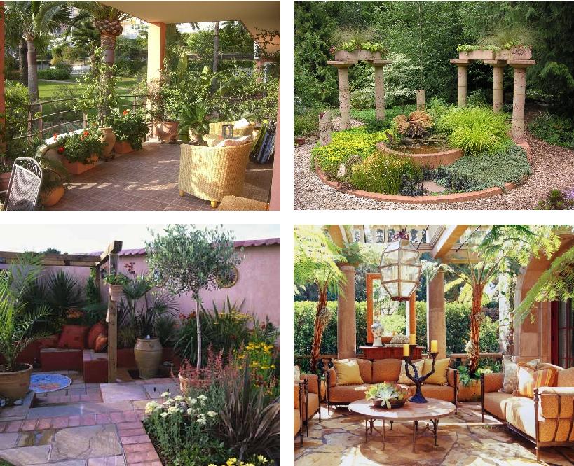 mediterrane tuinen garden pinterest mediterrane tuin. Black Bedroom Furniture Sets. Home Design Ideas