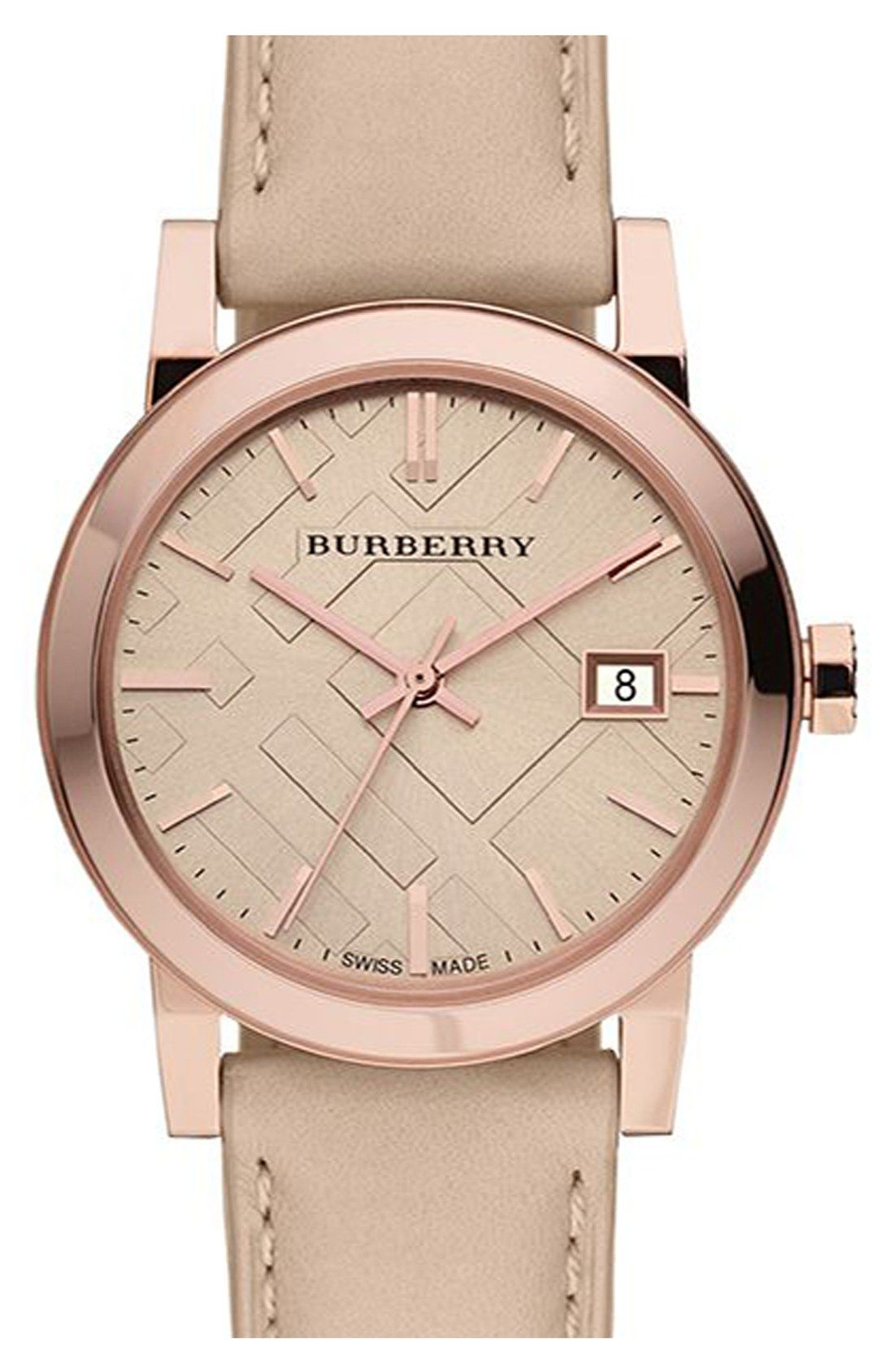 burberry female watches