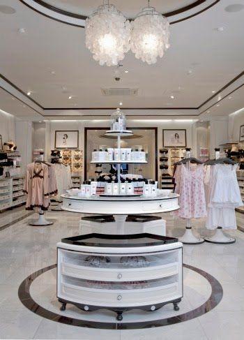 Lingerie shop interior | Pinterest | Wäsche