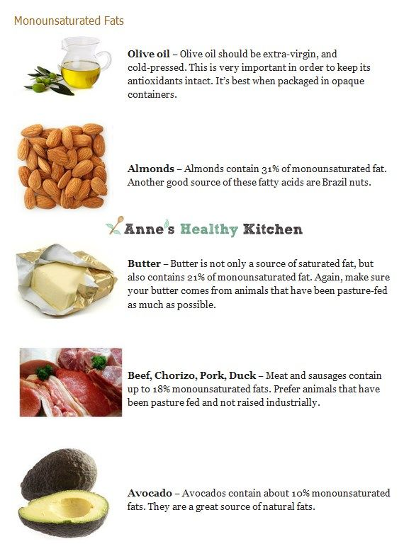 High Saturated Fat Food