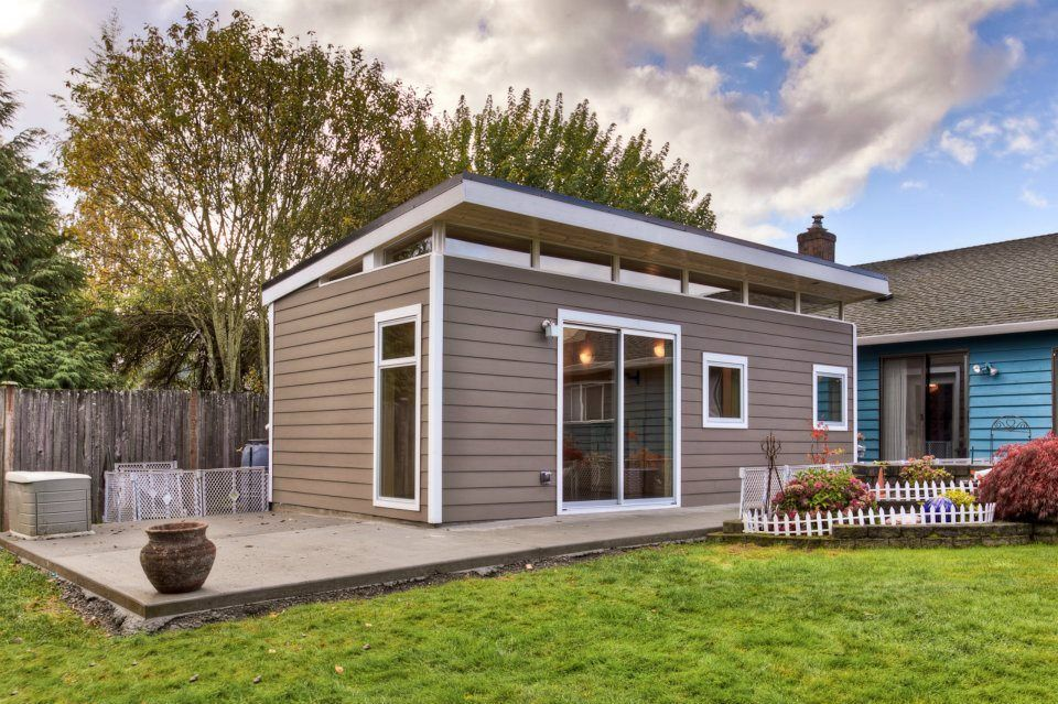 Prefab Guesthouse Kit Westcoast Outbuildings Small Guest House Design Backyard Guest Houses Backyard Cottage