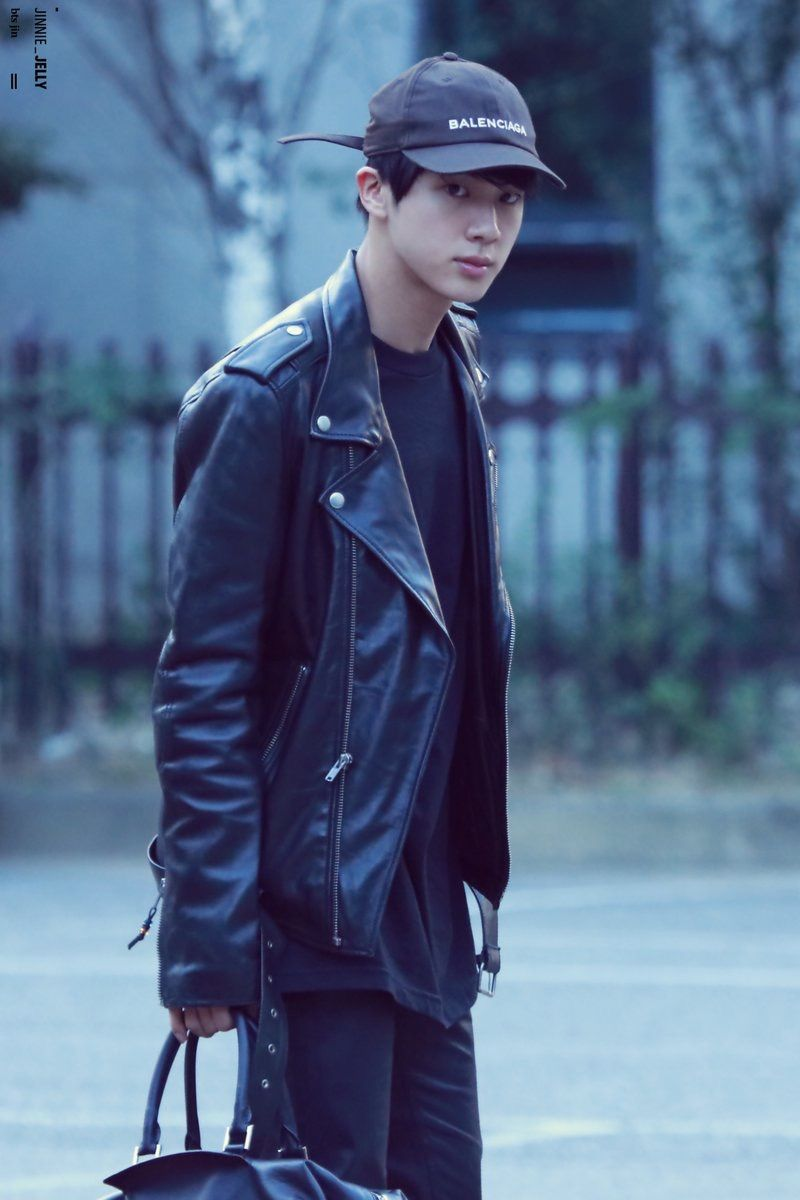 Your boyfriend Jin sneaking away in the early morning before your