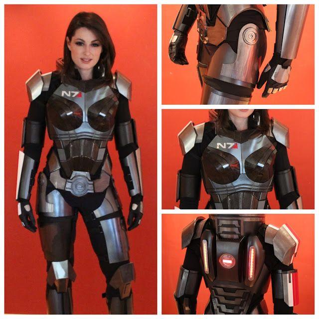 Mass Effect 3 N7 Armor build | Cosplay | Pinterest | N7 armor ...