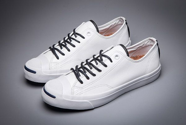 28c3428cb6e0 Converse Jack Purcell Tumbled Leather White Low  converse  shoes ...