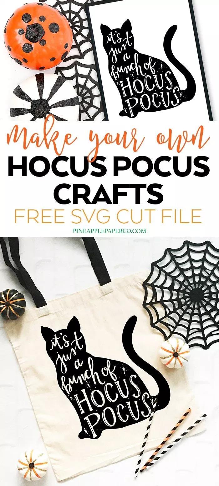 11+ Hocus pocus cat clipart info