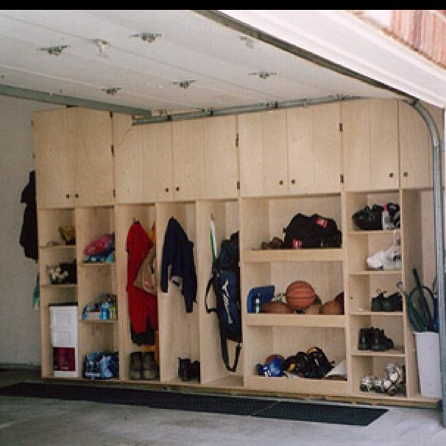 Garage cabinets I would put doors on the lower cabinets too to keep – Free Garage Storage Cabinet Plans
