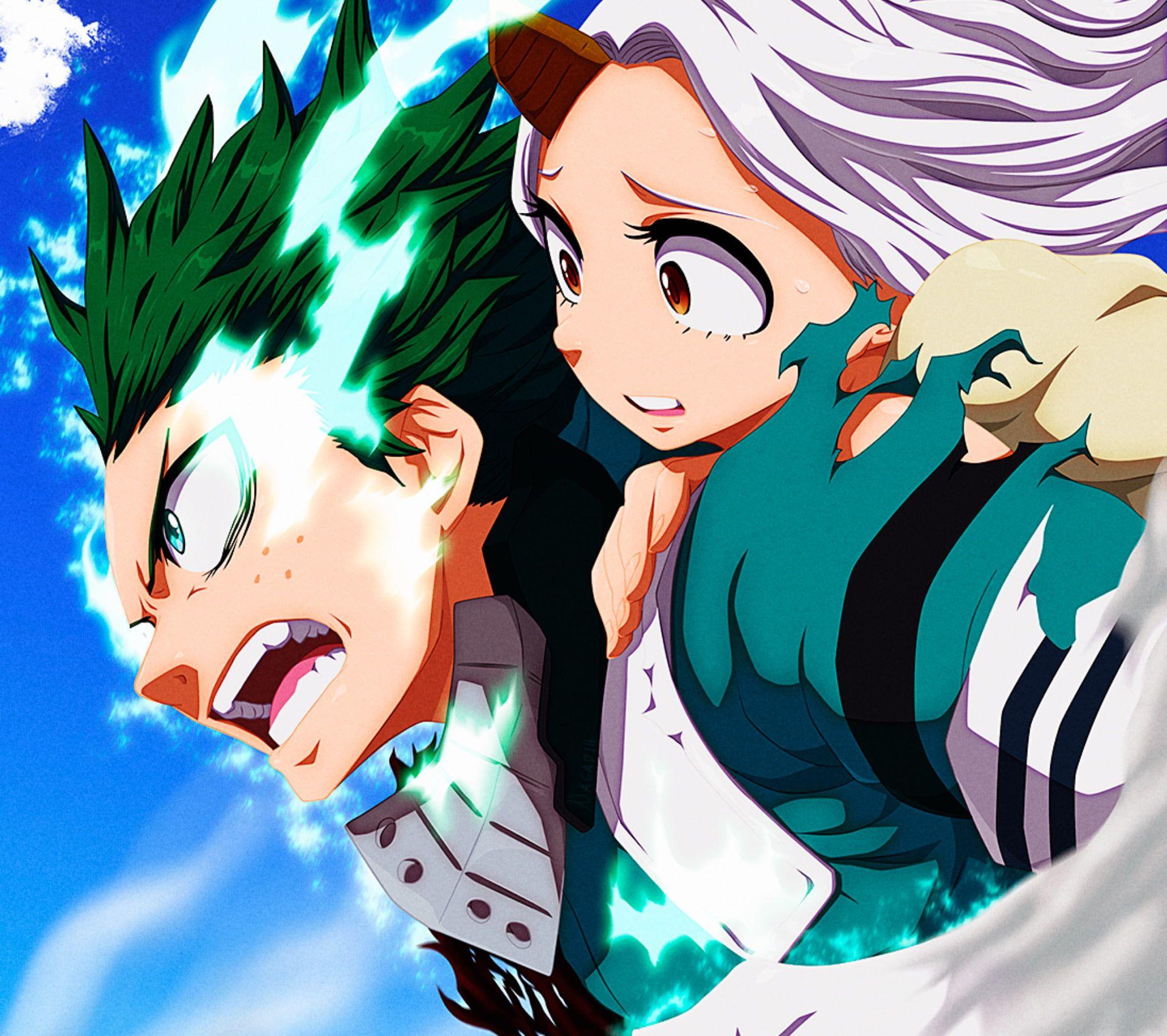 Anime My Hero Academia Eri (My Hero Academia) Izuku