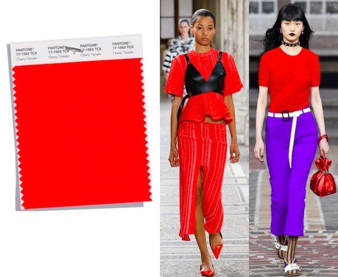 Los Colores De Moda De La Primavera Verano 2018 Del Pantone