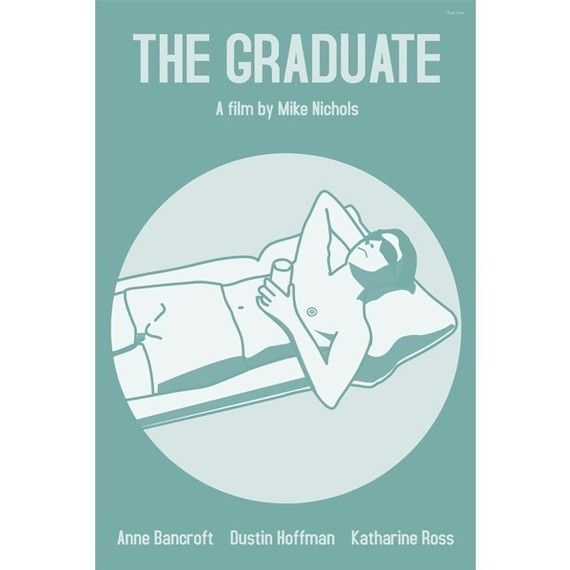The Graduate Movie Poster In Various Sizes (With Images