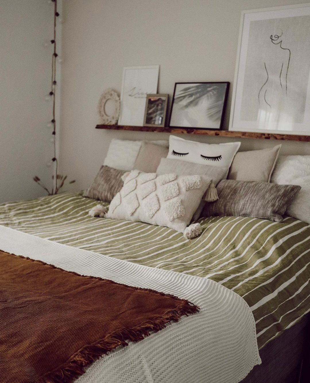 """Beauty • Interior • Fashion on Instagram: """"Noch einmal schlafen dann ist Wochenende! 🎉 _____________________________________ #bedroominspo #interior #decorationinterieur #bedroom…"""""""