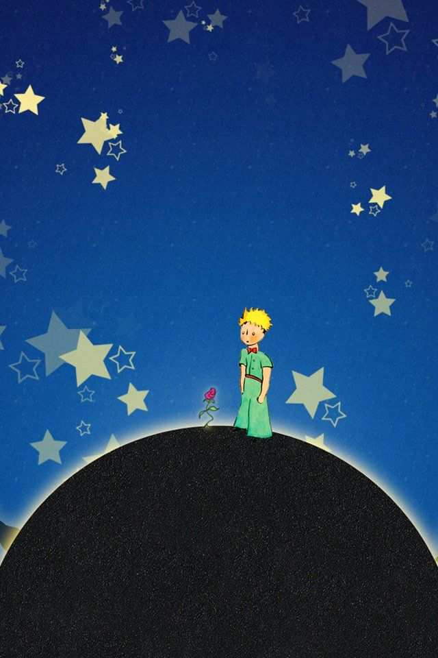 Keep The Little Prince On Your Phone With These Sweet Wallpapers The Little Prince Wallpaper Prince Art