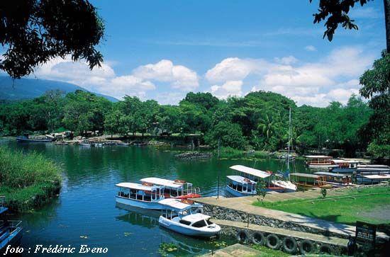 Lago De Nicaragua El Mar Dulce Nicaragua Tourism Nicaragua Travel Lake Nicaragua