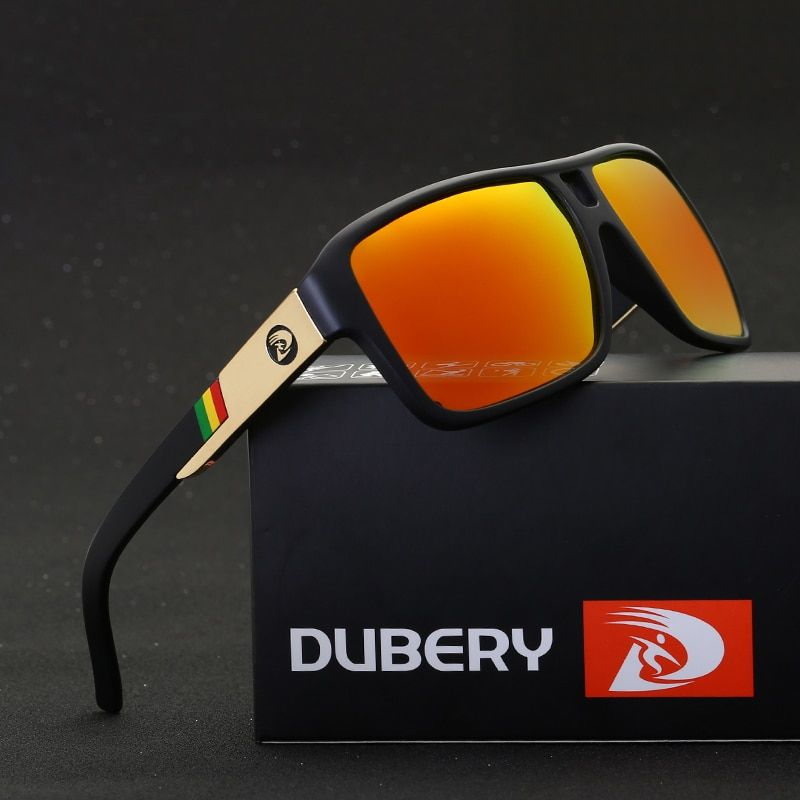 DUBERY 2018 Men's Polarized Dragon Sunglasses Driving Sun