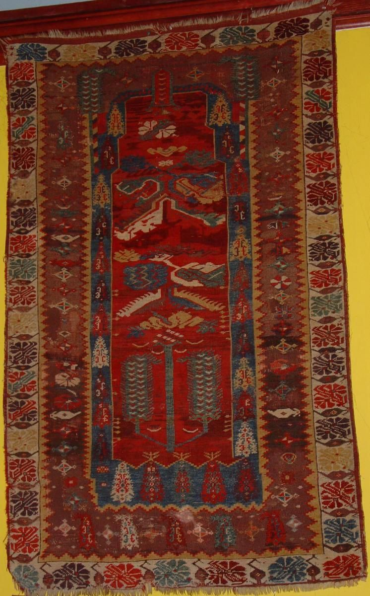 Late 18th Century Melas Exceptionally Wide Range Of Color For The Type In Light Of The Accompanying Essay One Might Consider Rugs Rugs On Carpet Prayer Rug