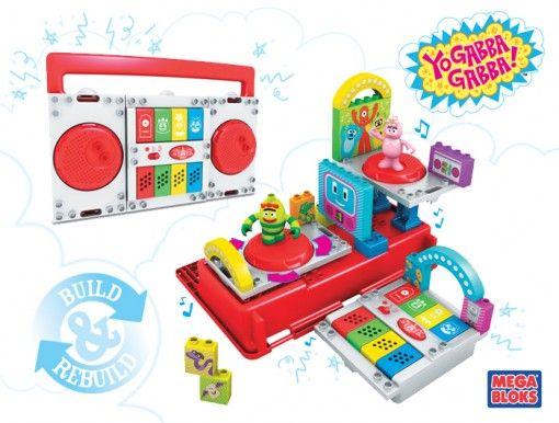 Yo Gabba Gabba Boom Box Toy Perfect Birthday Gift