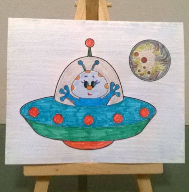 Craftartista: Trip to the moon