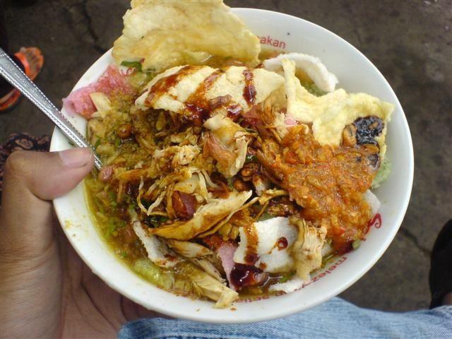 Nikmatnya Bubur Ayam Bandung Pak Zenal Resep Masakan Resep Resep Makanan