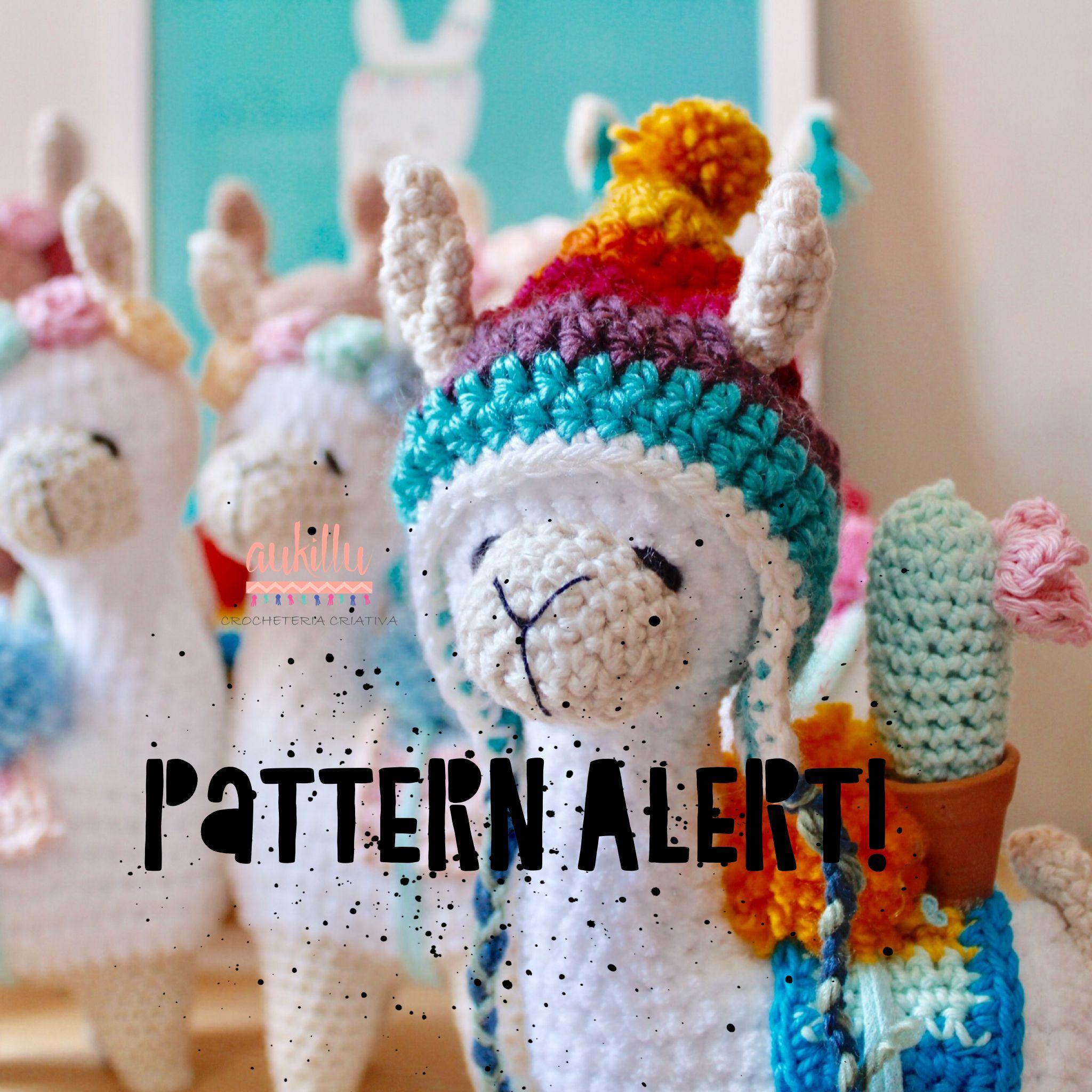 Ravelry: Ragdoll Llama pattern by Spin a Yarn Crochet | 2048x2048